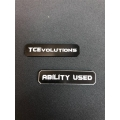 CNC Machined Aluminum Ability Marker (Black) 1 pair