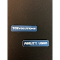 CNC Machined Aluminum Ability Marker (Water Blue) 1 pair