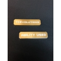 CNC Machined Aluminum Ability Marker (Gold) 1 pair